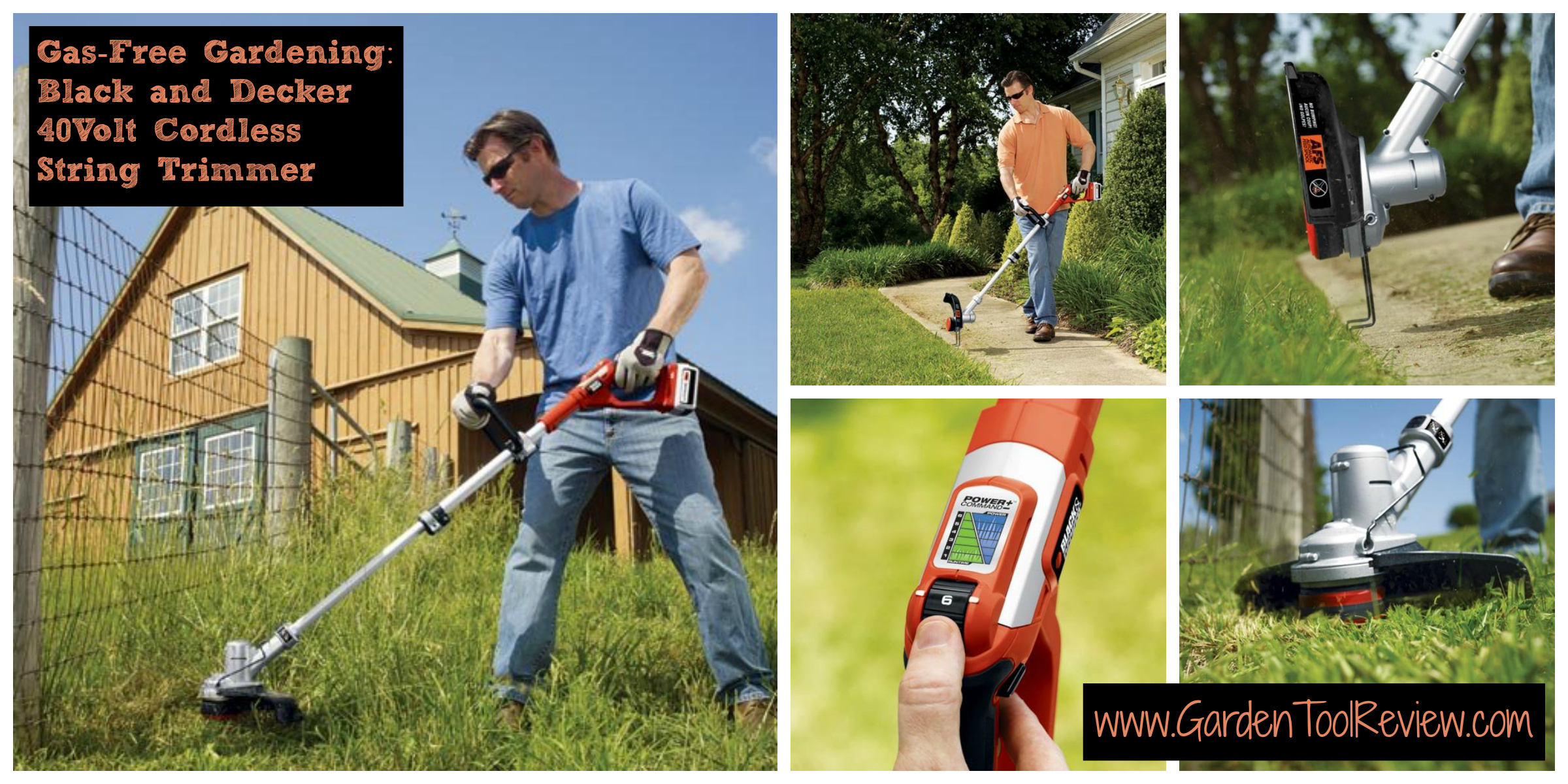 Review of Black and Decker's 40Volt String Trimmer